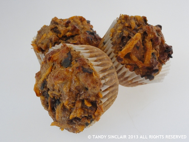 """Sweet Potato Muffins"""